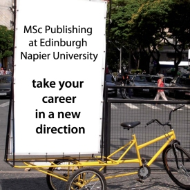 Take your career in a new direction: MSc Publishing