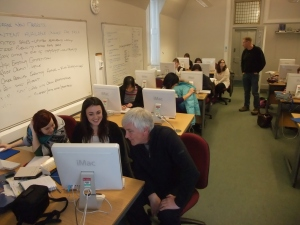 MSc Publishing students in NC504