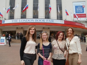 Arriving at Earls Court