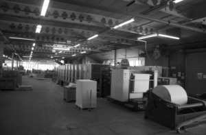 Manroland 700 printer at Scotprint
