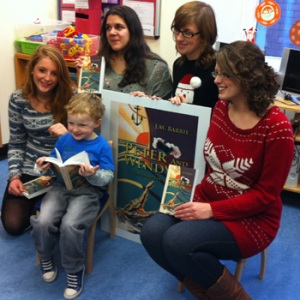 """MSc Publishing students donate """"Peter and Wendy"""""""