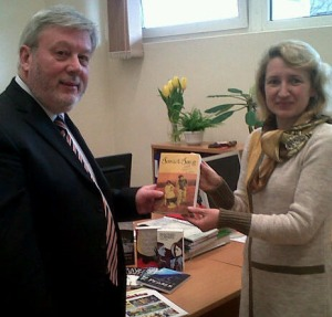 photo of books to Vytautas Magnus University