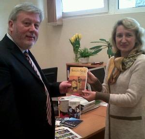 photo of books to Vytautas Magnus University