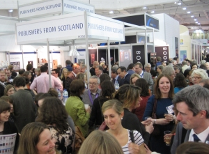 Publishing Scotland party is mobbed at LBF 2012