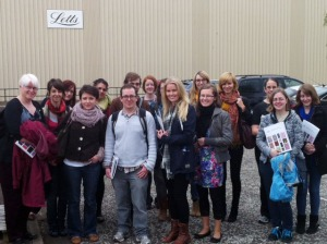 Edinburgh Napier University Publishing students printers visit