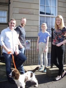 Neil, Matt, Charlie, Hayley and Ruby