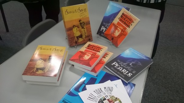 Merchiston Publishing titles Sunset Song, The Kelpie's Pearls and Detective McLevy's Casebook.