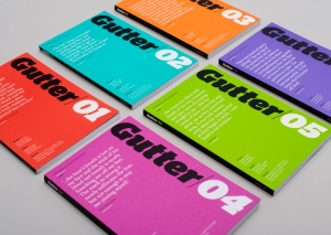 Gutter magazine: The design of the first issues are still striking 12 years on