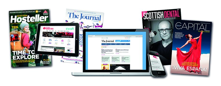 A selection of Connect's publications, across print, web and digital platforms