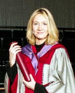 Honorary Graduate, J.K. Rowling 2000